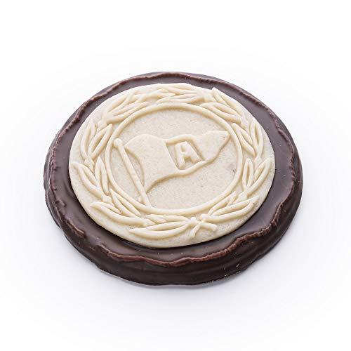 DSC Arminia Bielefeld Niederegger Marzipan-Schokoladen-Torte Logo