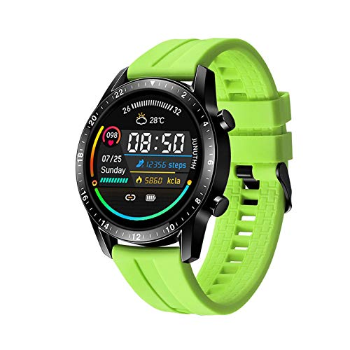N\C Smart Watch SW08 Touch Round Screen Heart Rate and Blood Pressure IP68 Bluetooth Smart Bracelet Sports Watch