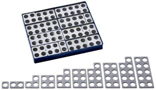 Numicon: Box of 80 Numicon Shapes (Grey)