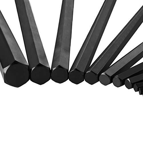 EPAuto Hex Key Wrench Set, 30-Piece, (0.028-3/8 inch,0.7-1.0mm)