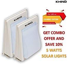 Combo Led Solar Lights 5 Watts - 2 pcs included