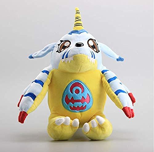 QIXIDAN Digimon Adventure Gabumon Große Größe 1435 cm Plüschtiere Weiche Gefüllte Puppen Kissen Kissen Kinder Geschenk