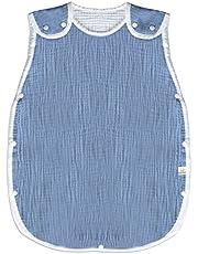 (ケラッタ) イブル スリーパー 赤ちゃん ガーゼ 綿100% ベビー用 新生児 秋 冬 寝たまま着せられる 0~4歳まで
