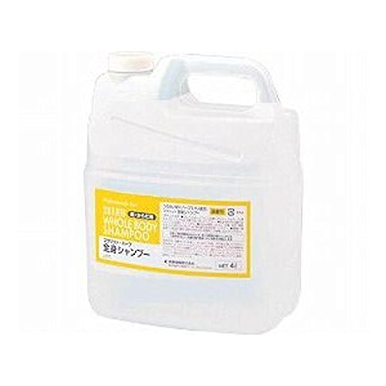 カウンタお抽象熊野油脂 業務用 SCRITT(スクリット) 全身シャンプー 4L
