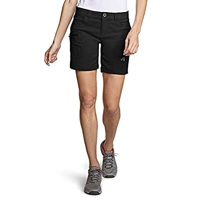 Eddie Bauer Women's Guide Pro Shorts, Black Regular 8