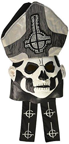 Máscara de Papa Emeritus II Ghost deluxe para adulto