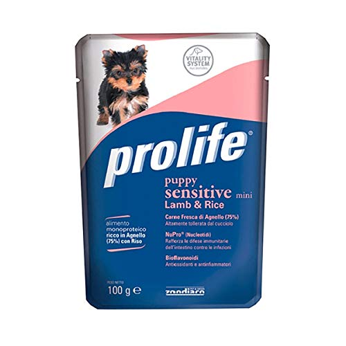 Prolife Sensitive per Cane Puppy Mini con Agnello E Riso da 100g