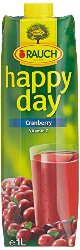 Happy Day Saft Cranberrysaft/-Konzentrat, 12er Pack (12 x 1 l)