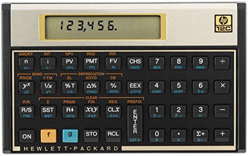 Calculadora Financeira, HP, F2230A#B17, Gold