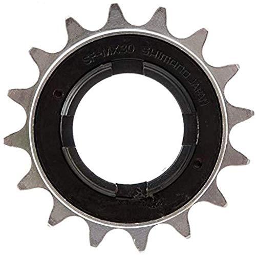 Shimano BMX DE 16 1/2X3/32 Piñón, Plata, Talla Única
