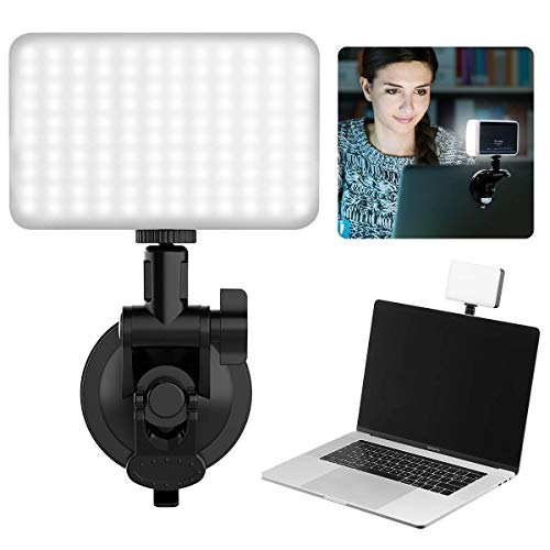 Videokonferenz Licht, Lampe Videokonferenz Laptop, Zoom Call Beleuchtung Arbeitsleuchte Fernarbeit, Video Calls, Videoaufzeichnung, Livestreaming und Webl-esen,Studieren