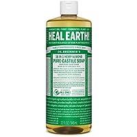 3-Count Dr. Bronner's Liquid Castile Almond Soap 32 Fl Oz