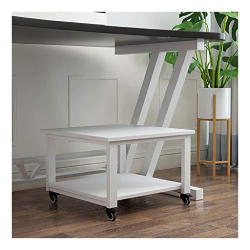 Soporte para Impresora Fácil de mover la impresora Soporte de Super portante del soporte del escritorio de la impresora debajo del escritorio Impresora De pie, con 4 ruedas for impresora 3D Mini Organ