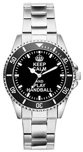 Handball Geschenk Artikel Idee Fan Uhr 2052
