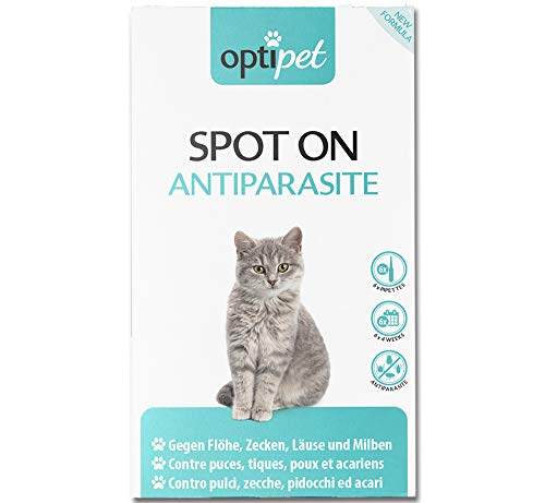 OptiPet Spot On 6x1ml Pipetten für Katzen