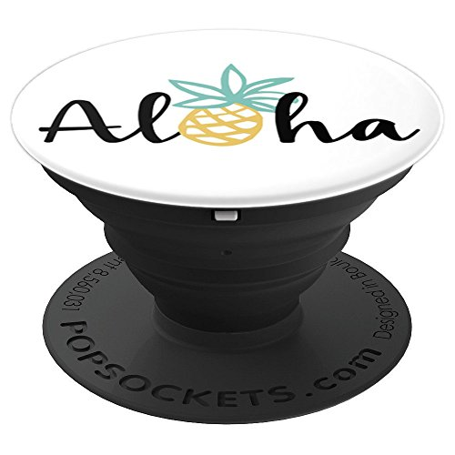 Aloha Pineapple Hawaii Hawaiian - PopSockets Grip and Stand for Phones and Tablets