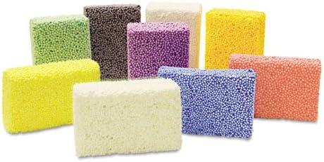 Overseas parallel import regular item - safety Squishy Foam Classpack Blocks 36 Colors Assorted