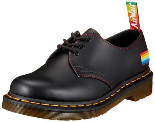 Dr. Martens Unisex DM26800001_43 Half Shoes, Black, EU