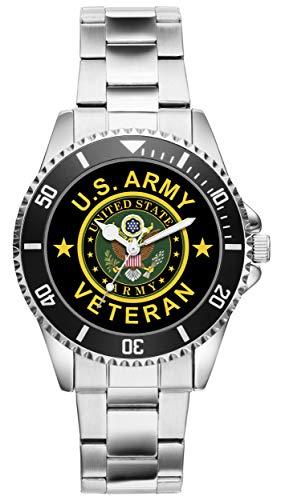 KIESENBERG - Geschenk US Army Veteran Military Soldat Artikel Uhr 6503