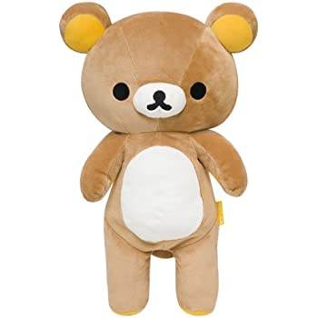 Official San-x Rilakkuma Plush Stuffed Doll M Rilakkuma MR75101 USA Seller