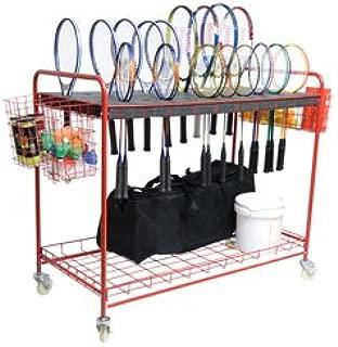 BSN Sports Racquet Storage Cart