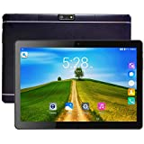"Tablet PC, Veidoo 10.1"" Inch Tablet, HD Screen, IPS Display, Dual Camera, Android 6.0, WiFi/GPS/OTG, 3G Phablet with Dual Sim Card Slots, 1GB Memory, 16GB Storage, Ideal Gifts (Black)"