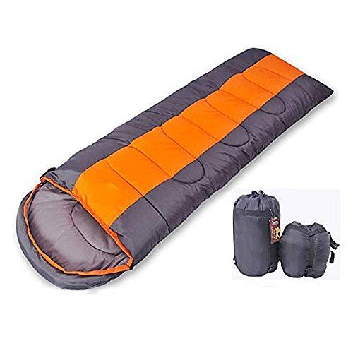 HuiHang Slaapzak outdoor mummie tas katoen draagbare warme 210 * 80 cm camping outdoor slaapzak camping en wandelen outdoor recreatieve sporten