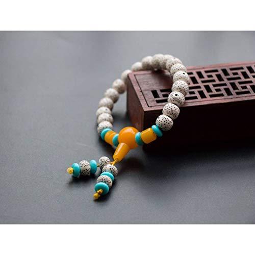 MLJSX armband Monolayer hoge imitatie maan Bodhi parel ketting handsnaar kleine ornamenten