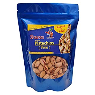 Shara's Dry Fruits Salted & Roasted nian Pistachios (Pista)
