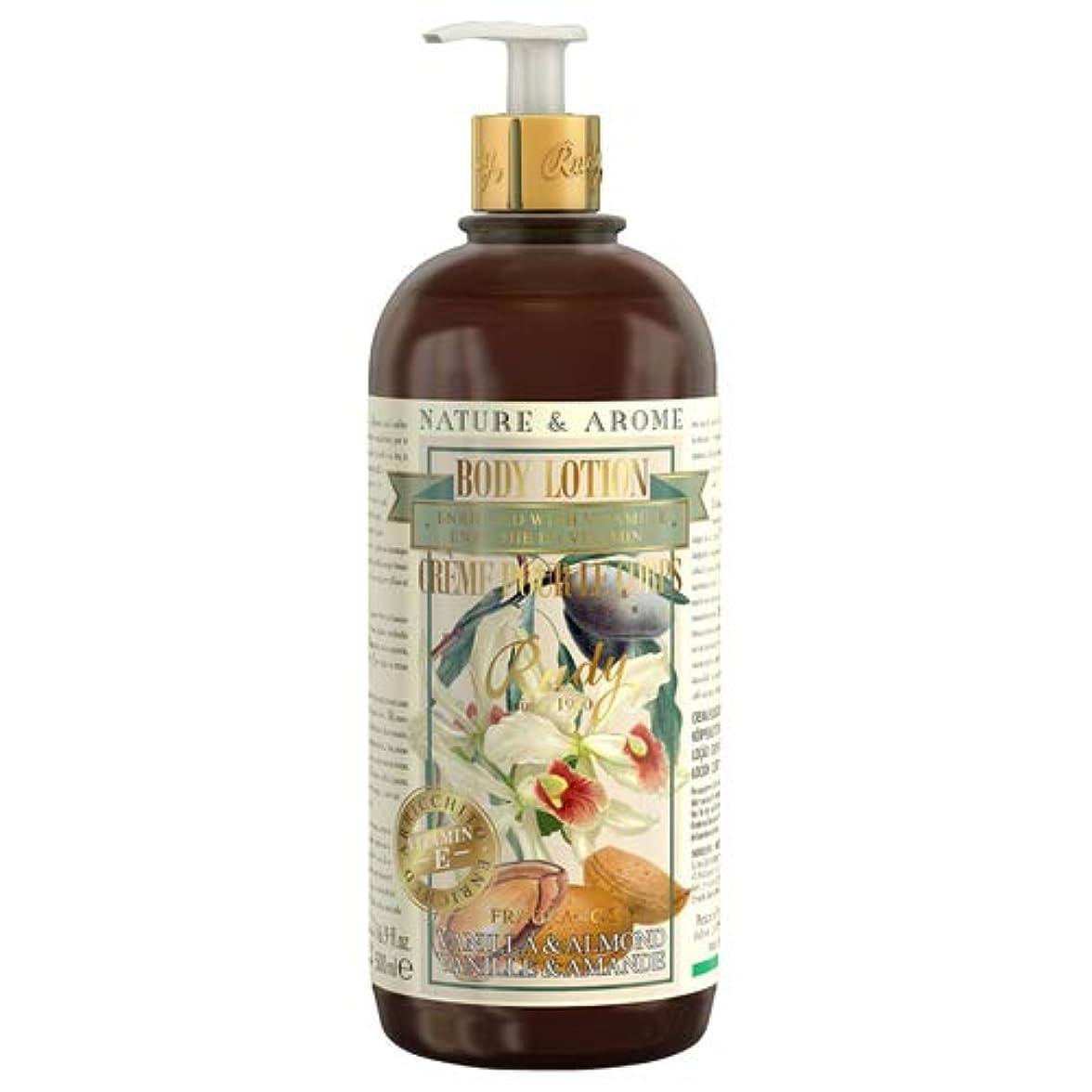 侵入する変わる黙RUDY Nature&Arome Apothecary ネイチャーアロマ アポセカリー Body Lotion ボディローション Vanilla & Almond バニラ&アーモンド