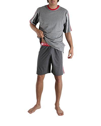 Punto Blanco – Pijama corto Body Fit – (gris/S)