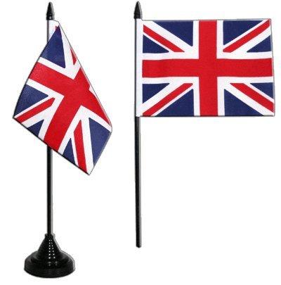 Flaggenfritze® Tischflagge Großbritannien 10x15 cm