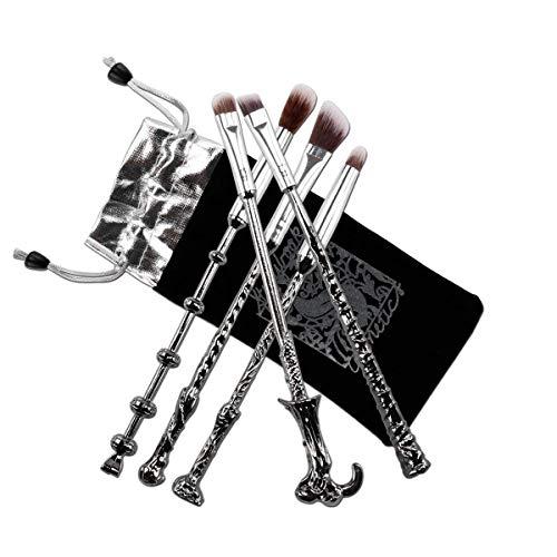 Dilla Beauty W900 Make-up-Pinsel, 5-teilig, für Kosmetik, Optik wie Zauberstäbe aus Harry Potter,...