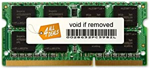 4AllDeals 4GB (1X4GB) RAM Memory for Acer Aspire One AO722-BZ699, AO722-BZ816 (DDR3-1066MHz 204-pin SODIMM)