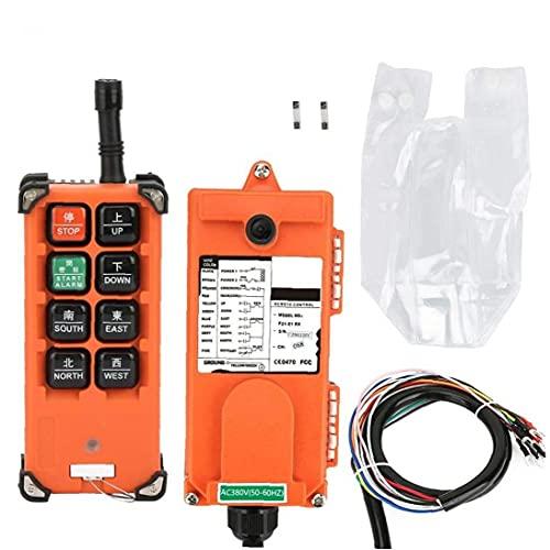 NiceJoy Polipasto eléctrico Receptor Remoto Controlador Cambia 24v VHF 310-331mhz Industrial Wireless...