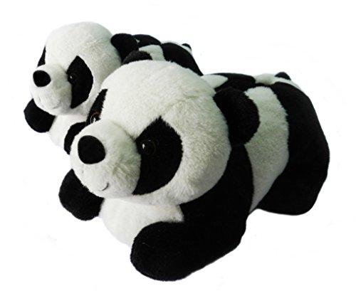 Zapatillas De Animales Para Mujeres, Pantuflas Zapatillas De Invierno Oso Panda Para...