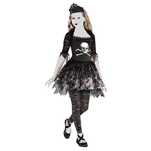 amscan 9904991 Zombie Ballerina Jurk Kostuum - Leeftijd 8-10 Jaar- 1 Pc