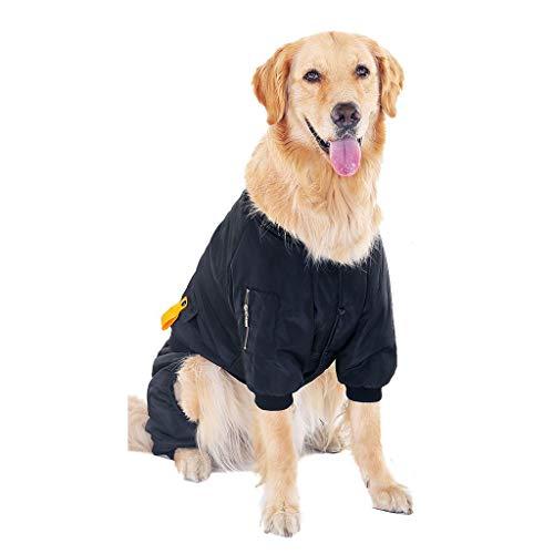 FEGOCLT Ropa de Perro Grande Chaleco Chaqueta Abrigo Invierno Impermeable cálido Ropa para Mascotas para Perros Grandes Ropa (Size : 3XL Code)