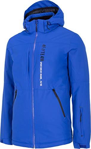 4F Unisex-Adult Herren Skijacke Harvey Steppjacke, Cobalt, M