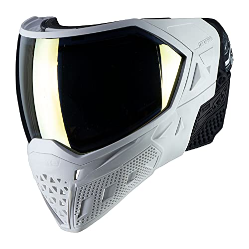 Empire EVS Thermal Paintball Mask - White / White With Thermal Gold / Thermal Clear Lens