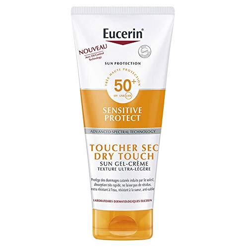 Eucerin Sun Protection Sensitive Protect Sun Gel-Crème Toucher Sec SPF50+ 200 ml
