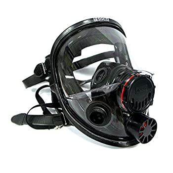 Honeywell North 7600 Series Niosh-Approved Full Facepiece Silicone Respirator Small  760008AS