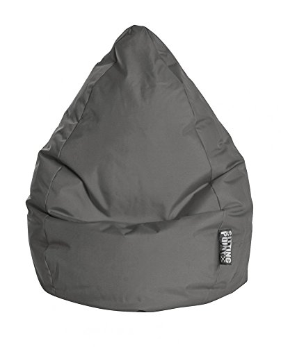 SITTING POINT only by MAGMA Sitzsack Brava Bean Bag XXL ca. 300 Liter anthrazit