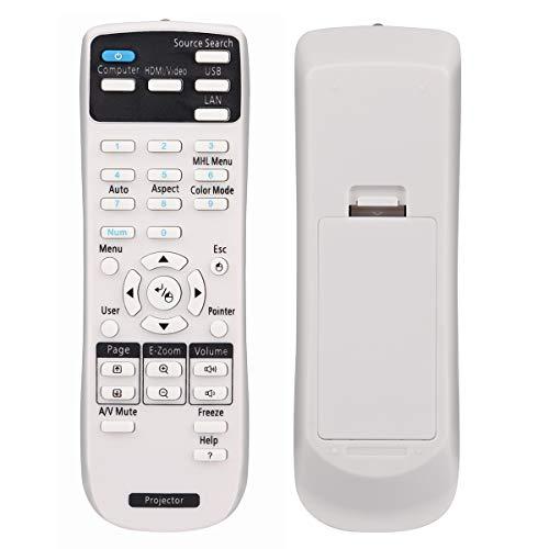 Aimple 1626366 - Mando a distancia para Epson EB-945H EB-955WH EB-965H EB-98H EB-S27 EB-W28 EB-W29 EB-X27 EB-X29 EB-X30 EH-TW570 EX7230 Pro EX7235 Pro