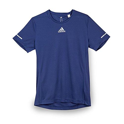 Adidas Sequencials Run T-Shirt de Course à Pied pour Homme L Bleu