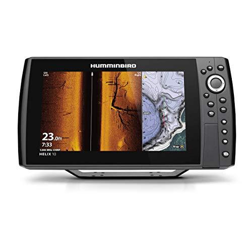 Humminbird 411420-1 Helix 10 Chirp MEGA SI+ GPS G4N Fish Finder