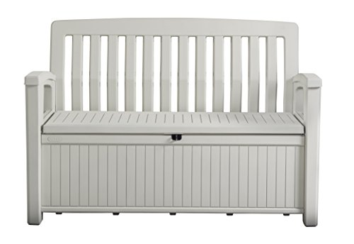 Keter Cassapanca Patio Bench Bianca 227 Lt In...