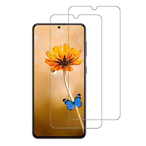 XSWO 2 Pezzi Vetro Temperato Compatibile con Samsung Galaxy S21 Plus (5G 6.7'), Pellicola Protettiva Vetro [Sensibile al Tatto] [Durezza 9H] [Senza Bolle] Protezione Schermo Galaxy S21 Plus