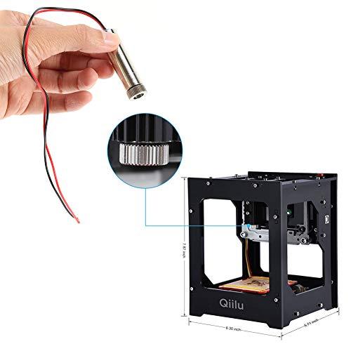 Qiilu 1500mw Laser Head Engraving Diode Emitter Blue-Violet Light for Qiilu or NEJE 1500mW Engraver