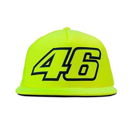Valentino Rossi VR46 Moto GP Logo casquette Jaune Officiel 2017